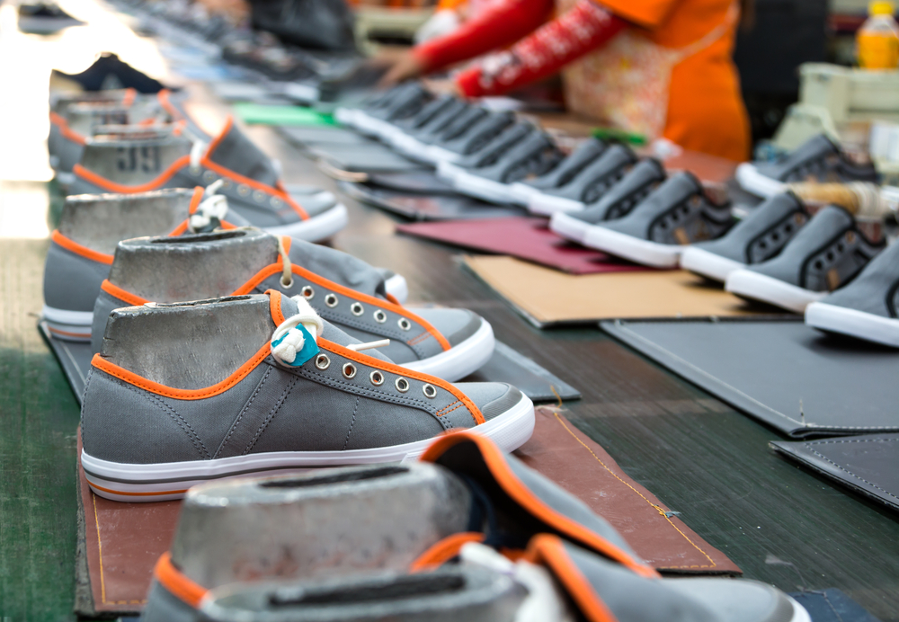 Shoes are a top industry in Vietnam.