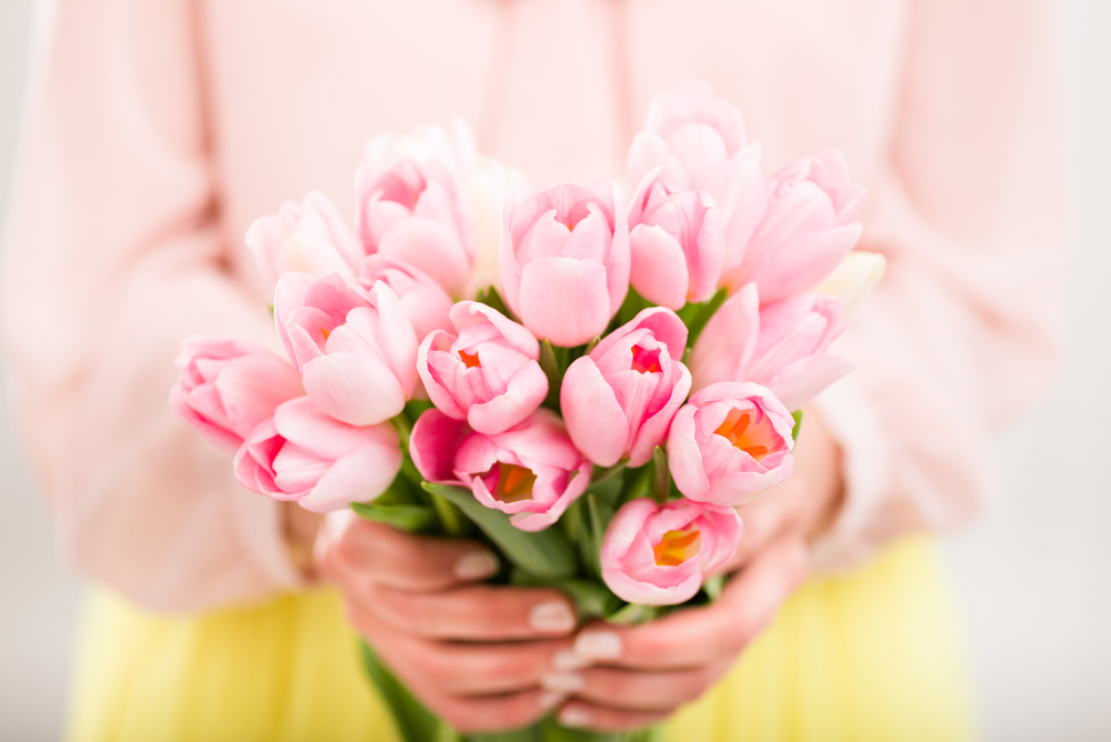 Giving flowers is common in Estonia for almost any occasion.