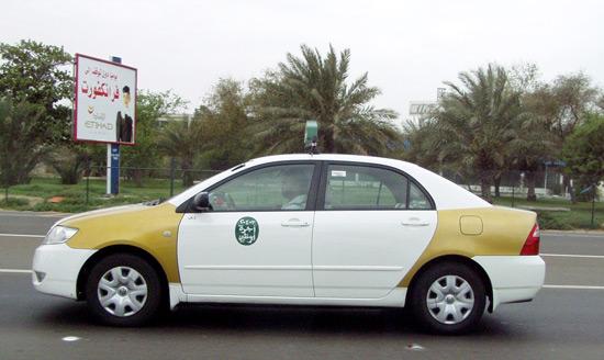 Older Abu Dhabi taxi