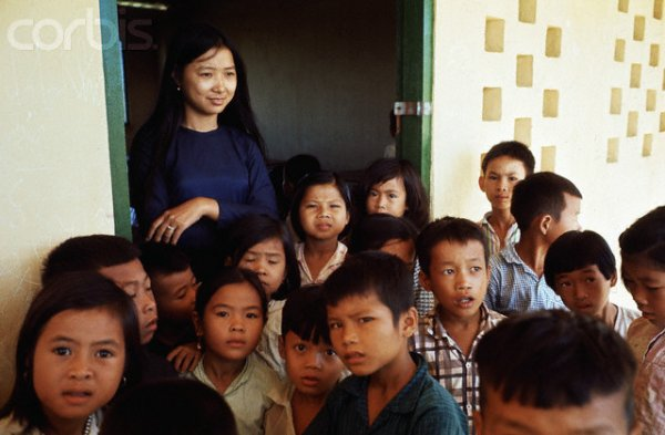 Nearly two-thirds of teachers in Vietnam are women.