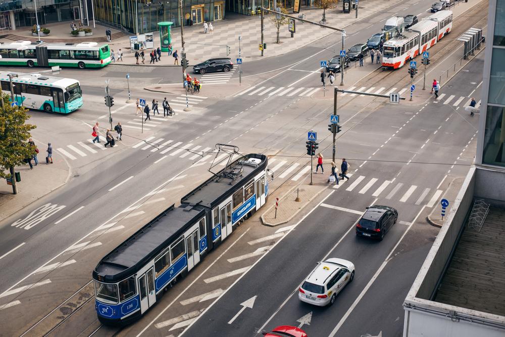 Traffic In Tallinn