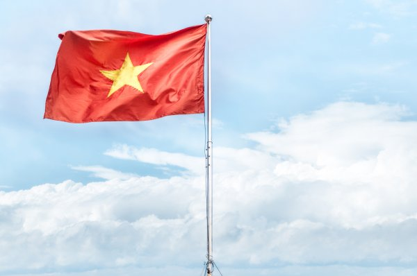 Vietnam declared its independence from France in 1945.