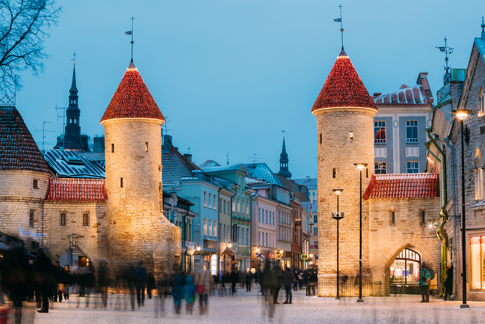 Estonia was ruled by the Danes, Swedes, Germans, and Russians before becoming independent. They emerged with their language and traditions uncompromised.