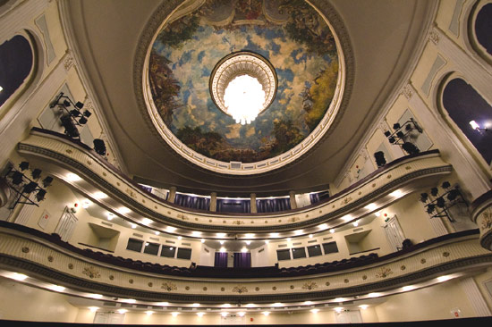 A symbol of national pride, the Estonia National Opera was carefully renovated after World War II damage.
