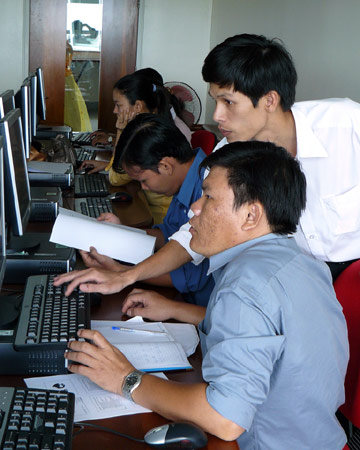 Vietnam's young generation of entrepreneurs look toward the future and view time as a fast-paced, money-making opportunity.