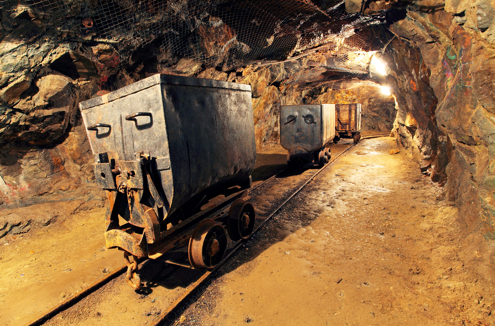 Mining is a major industry.