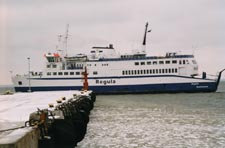 Ferry services link Scandinavia with Estonia.