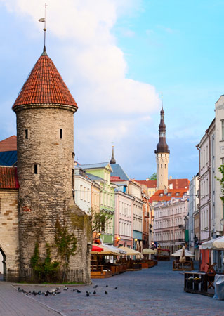 Located on the Gulf of Finland, Tallin dates to the 13th century and is the nation's largest city and capital.