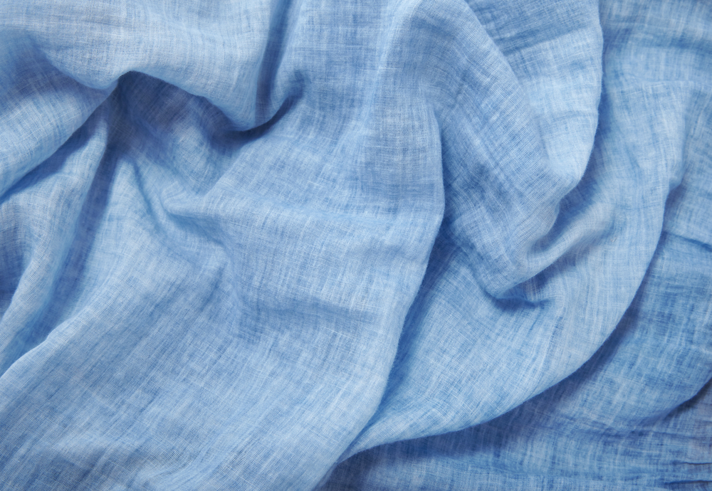 "Garments made of linen are lightweight and ""breathe"" well in humid climates."