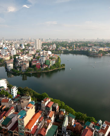 Hanoi is the capital of Vietnam, one of the fastest-growing economies in Southeast Asia.