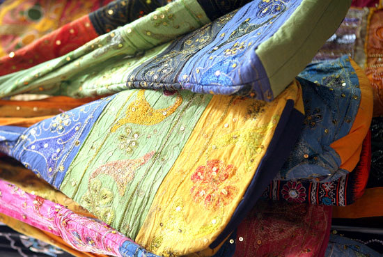 On Karamah Street, you can find Emirati textiles and see how they are made.