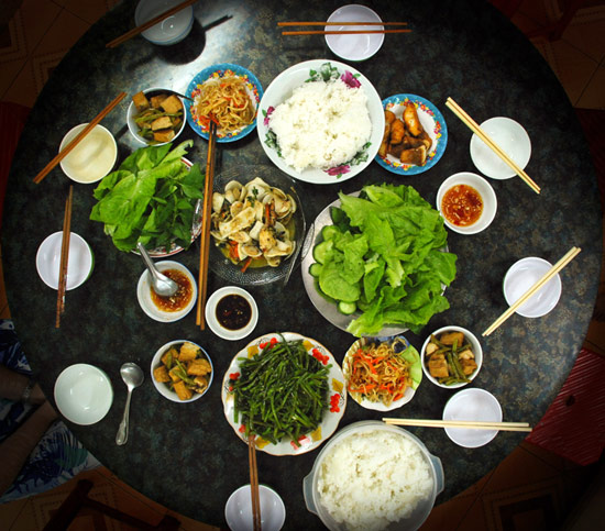 Vietnamese food can be fiery, and some of the ingredients may be unfamiliar, so finicky eaters may not be too comfortable.