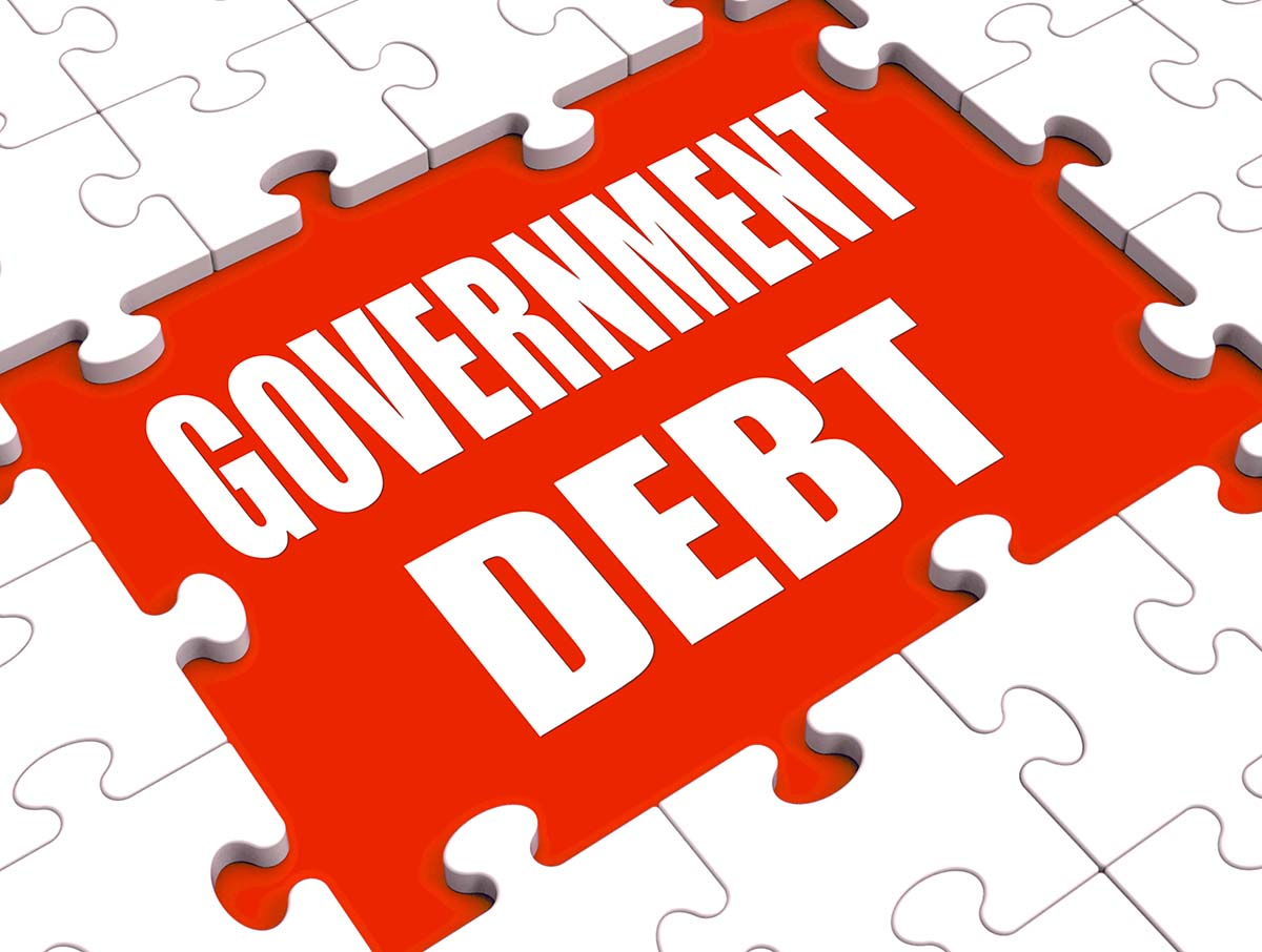 Central government debt is a measure of how much a country's government owes its creditors.
