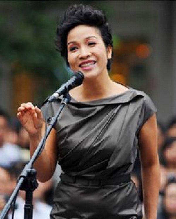 Vietnamese Pop Singer Mỹ Linh