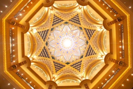 Emirates Palace Hotel Atrium
