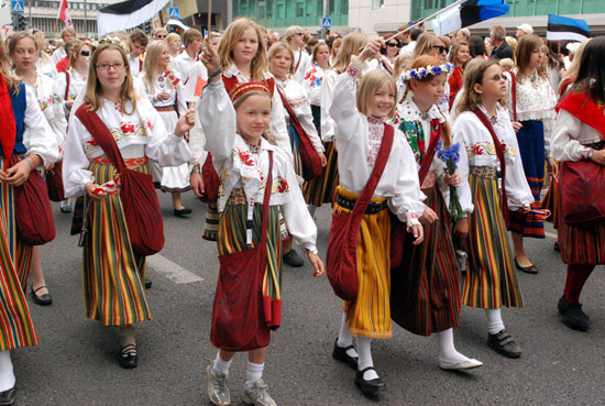 Some two-thirds of residents are ethnic Estonians, with most of the other third claiming Russian heritage.