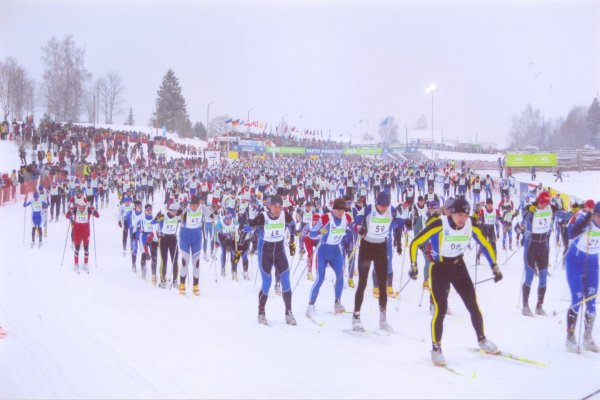 Skiers from all over the world participate in the annual Tartu Marathon.