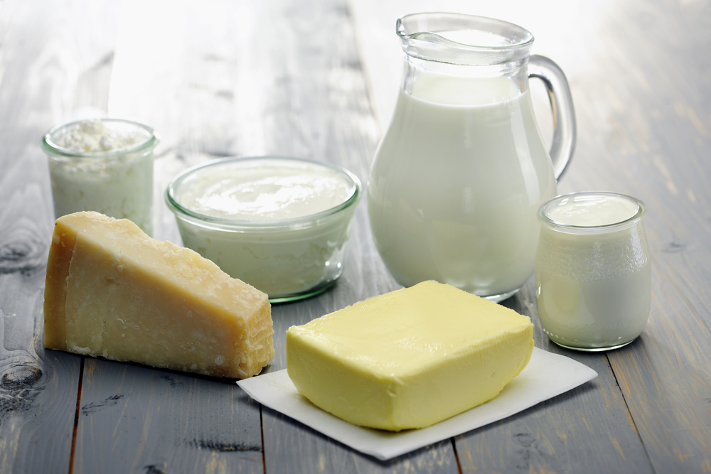 Dairy products are among the top agricultural products from Estonia.