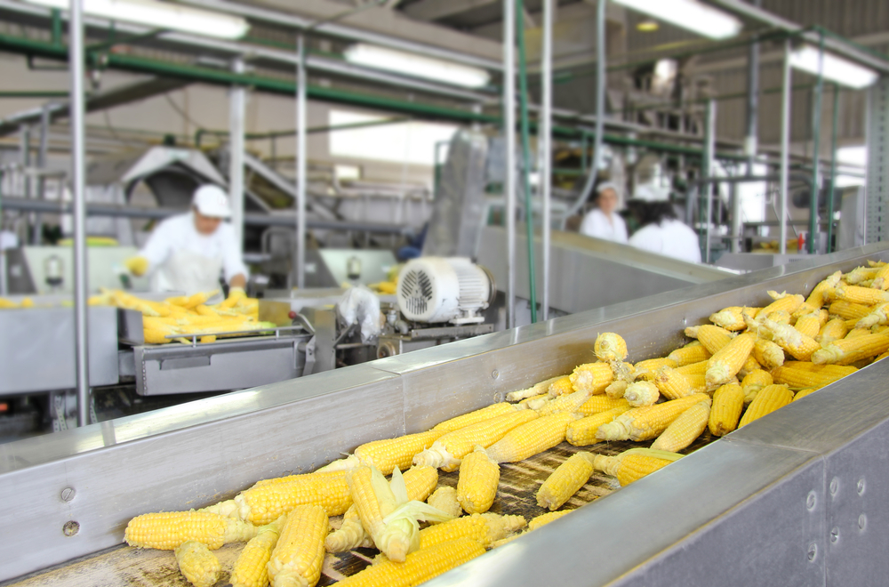 Food processing is the top industry.