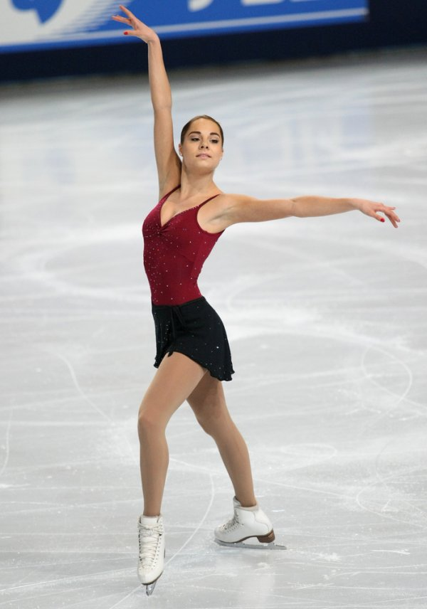Jelena Glebova has earned five international medals and seven national titles in figure skating; the sport is popular with many Estonian women.