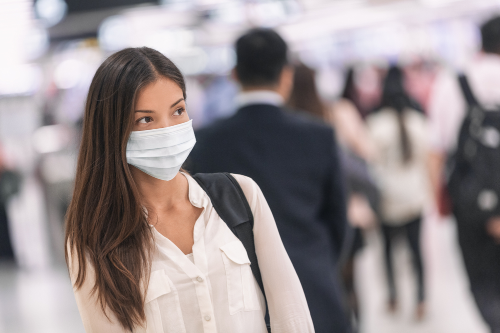 Properly wearing a mask can protect those around you from contracting your illness.