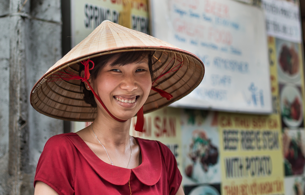 Despite the high level of poverty, the Vietnamese show all of the signs of being quite a happy people.