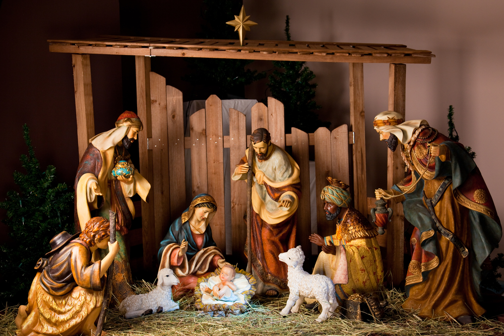 Christmas commemorates the birth of Jesus to the Virgin Mary.