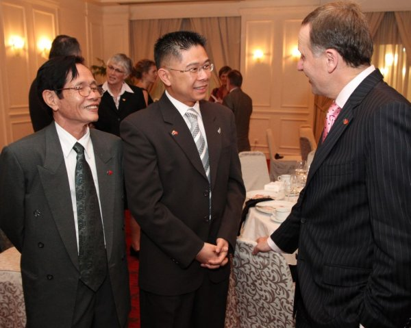 Much of Vietnam's international business is conducted in English.