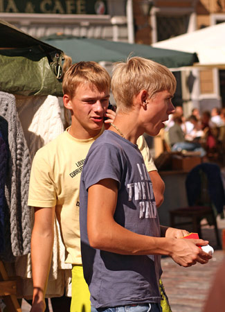 Estonian families generally expect their teens to complete high school.