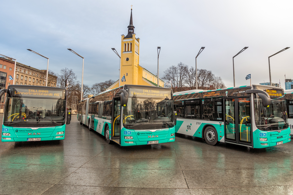 Buses are inexpensive and remain one of the best ways to travel in Tallinn.