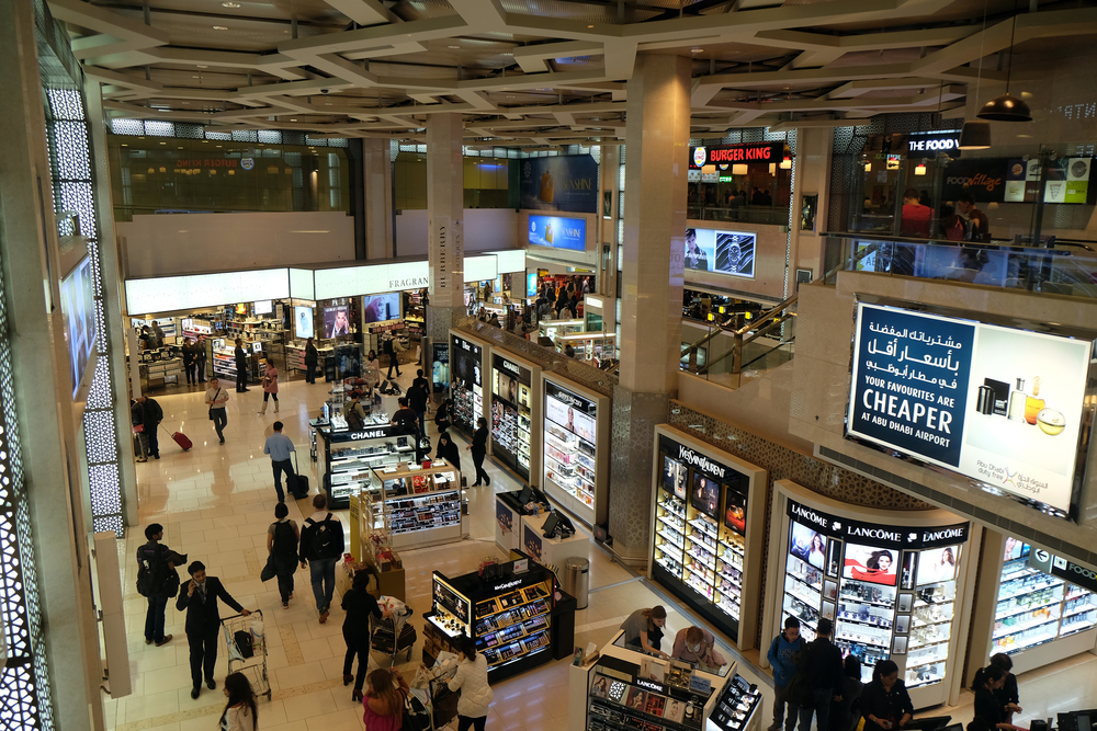 Duty-Free Shopping At Abu Dhabi International Airport