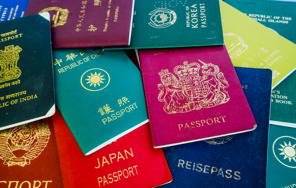 Passports are required for all travelers.