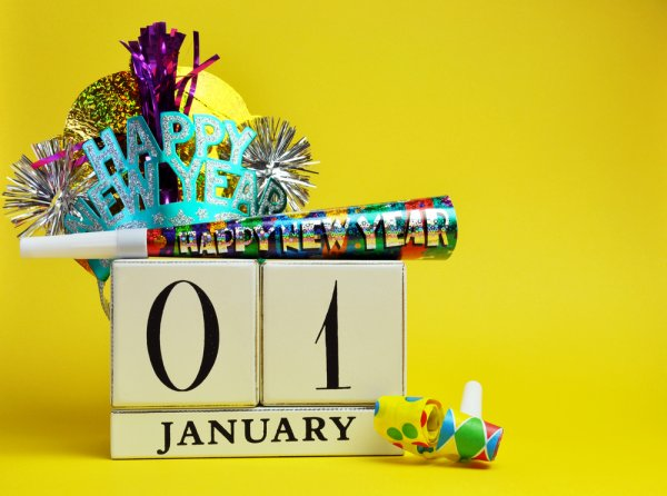January 1, or New Year's Day, is the first day of the Gregorian calendar.