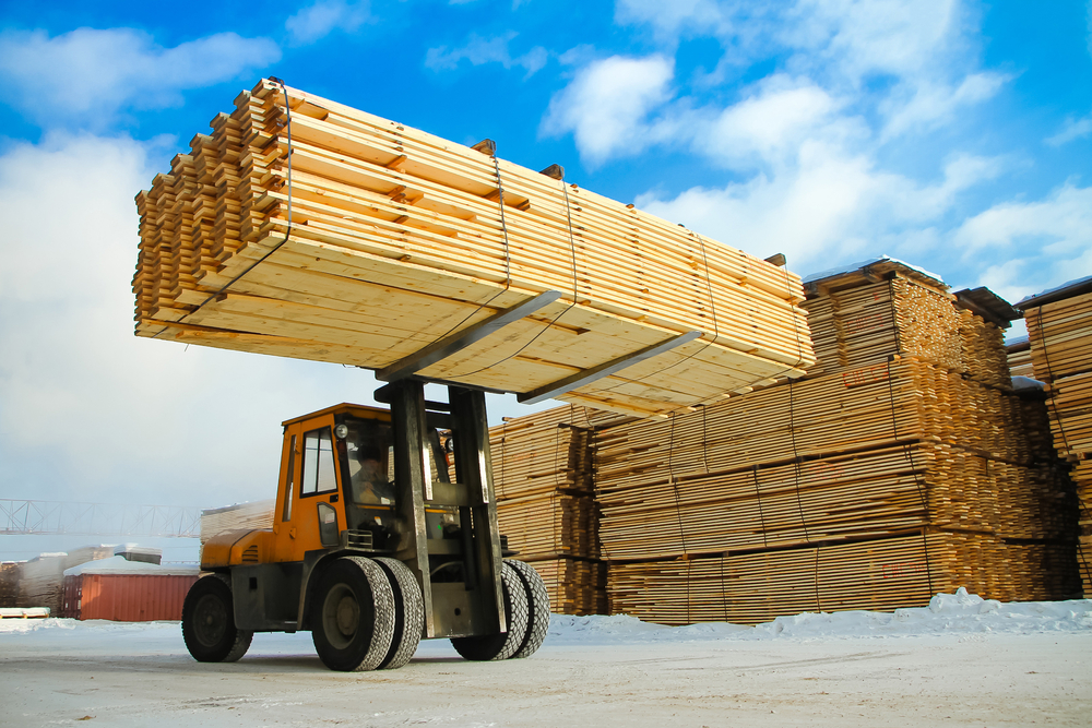 Wood and wood products are top industries in Estonia..