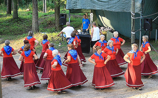 Traditional dance remains very popular in Estonia.