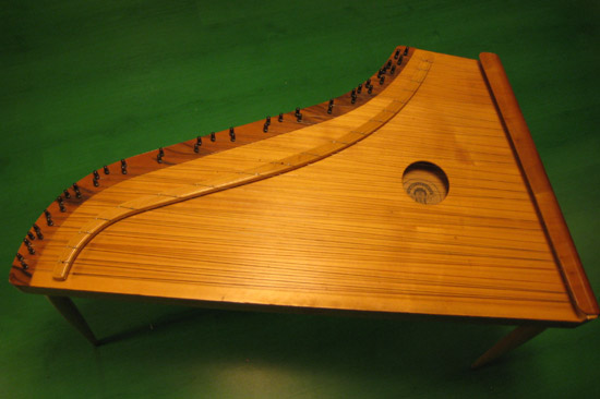 The <i>kannel,</i> a plucked zither
