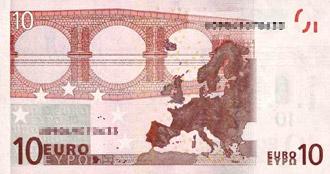 10 Euro (back)