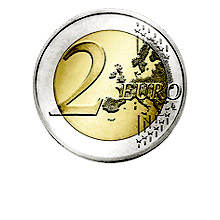 2 Euro (front)
