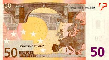 50 Euro (back)