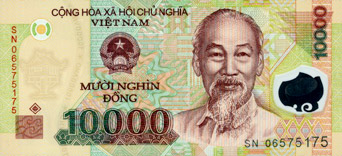 10000 Dong (front)