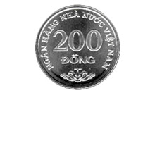 200 Dong (back)