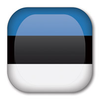 Flag of Estonia Button #2