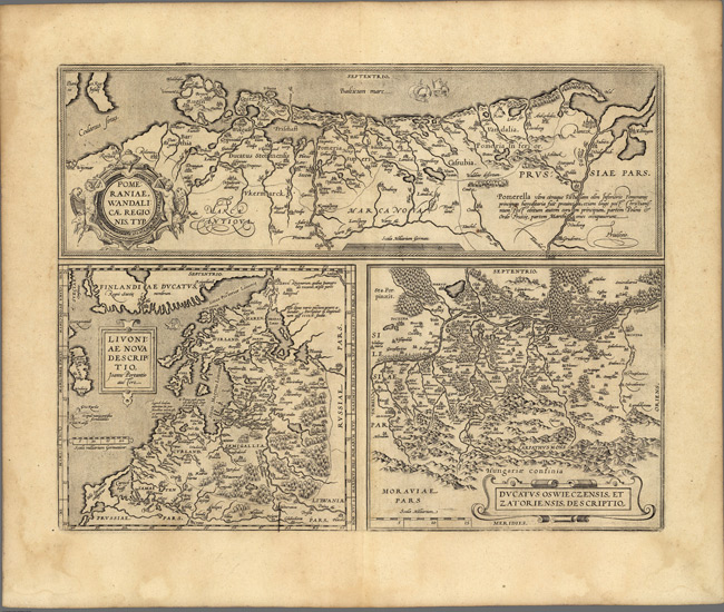 1608 Map of Russiain Europe