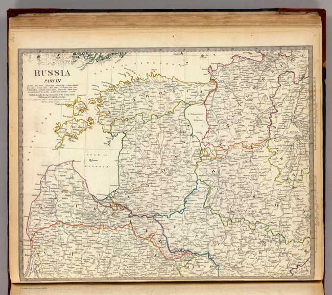 1834 Map of Russia Part II