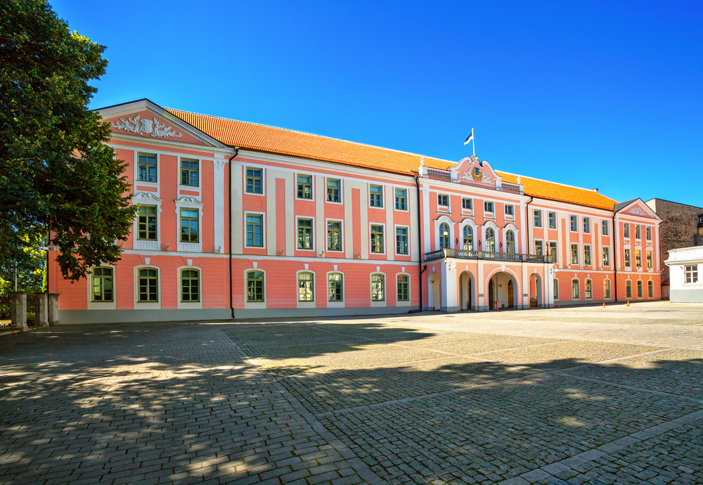 The Estonian Parliament, in Tallinn