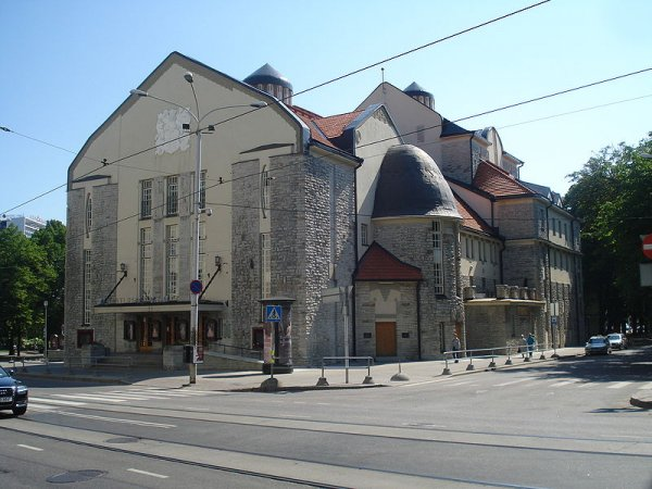 The Estonian Drama Theater is known throughout the country for its staging of classic and modern plays.