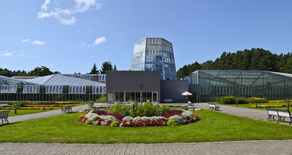 The Tallinn Botanical Garden boasts a vast collection of plants from around the world.