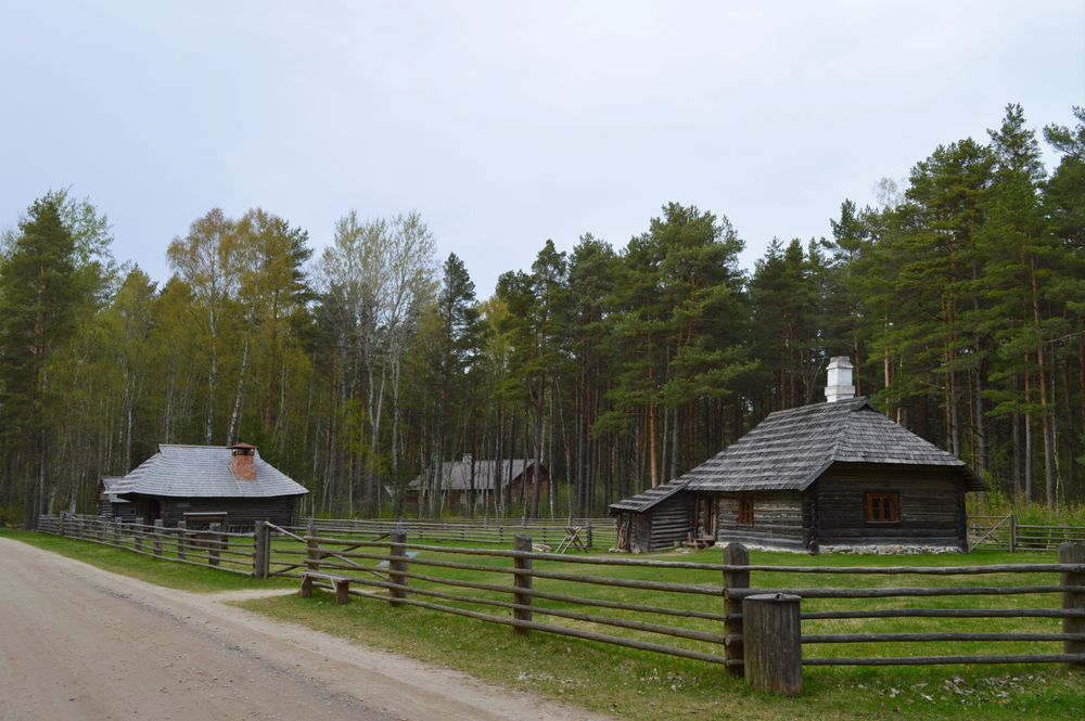 Visitors can go back in time to observe the country's past peasant life culture at the Estonian Open Air Museum.