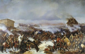 The Battle of Narva in 1700, in which the Swedes forces Russian forces out of Livonia