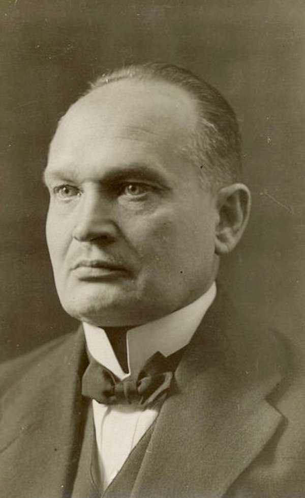 Konstantin Pats, the first president of Estonia.
